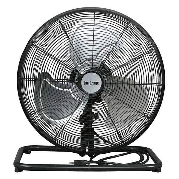 "Hurricane Pro High Velocity Metal Floor Fan 18"""