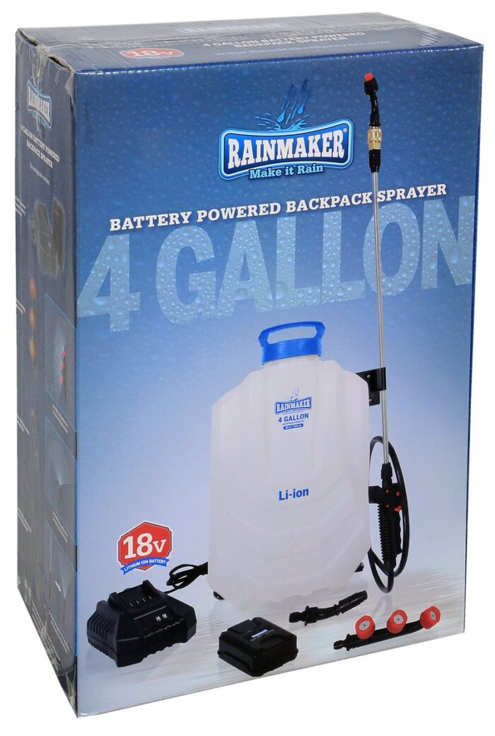 rainmaker batter powered backpack sprayer